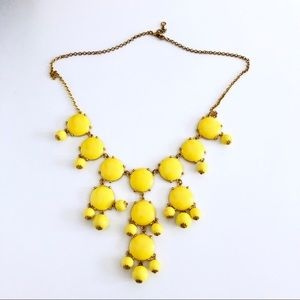 🌞 Yellow and Gold Bobble Necklace